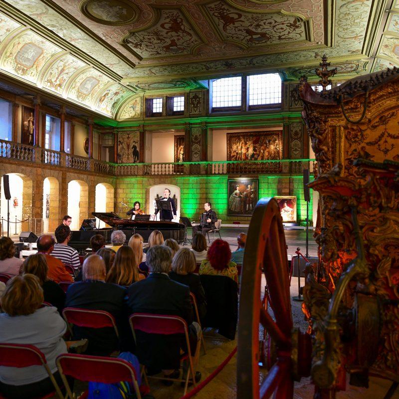 Concerto Comemorações D.Maria II - Museu dos Coches (Lisboa)